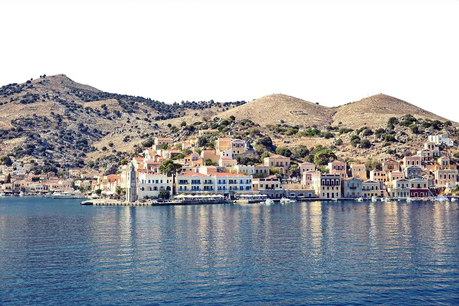 Full Day Rhodes Island Cruise / Lindos by Boat
